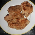 Garlic and Soy Grilled Pork Chops