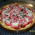 Garlic Basil Tomato Pie