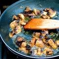 Garlic Butter Fried Mushrooms