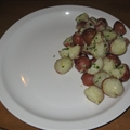 Garlic Parmesan Baby Potatoes
