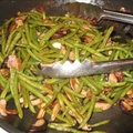Garlic Shiitake Green Beans