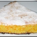 Gateau a la carotte, orange