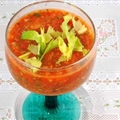 Gazpacho with Marinated Shrimp