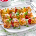 Georges Barbecue Chicken Kabobs