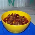 George's Hot Chili Beef Cook