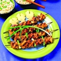 Ginger Chicken Kebabs
