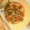 Gingered Turkey with Potatoes and Chick Peas