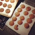 Gluten-free soft spicy ginger cookies