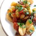 Gnocchi with Mushroom Sauce