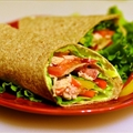 Good for You Chicken Wraps with Cool Avocado Dressing