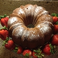 Grandmother Robbins Pound Cake
