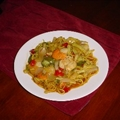 Greebocats Deluxe Seafood Stirfry
