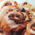 Greek Chicken Roulades