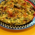 Greek Style Fritatta
