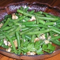 Green Beans with Walnuts and Walnut Oil