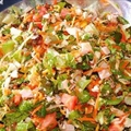 Green Salad with Thai Dressing