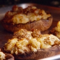 Grilled and Stuffed Portabello Mushrooms