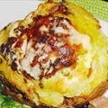 Grilled Baked Potatoes