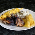 Grilled Citrus Chicken with Grilled Tropical Fruit
