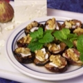 Grilled Figs with Feta and Mint