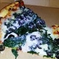 Grilled Pizza with Spinach And Feta
