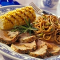 Grilled Pork Tenderloin with Balsamic Vinegar