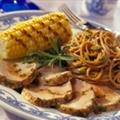 Grilled Pork Tenderloin with Balsamic Vinegar