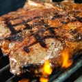 Grilled Porterhouse with Over-Stuffed Baked Potatoes