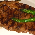 Grilled Ribeye Steak with Guinness Marinade