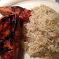 Grilled Teriyaki Glazed Yellow Fin Tuna