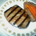 Grilled Tuna Steak Teriyaki