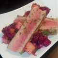 Grilled Tuna with Dragon Fruit Salsa
