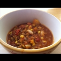 Ground Turkey-and-butternut Squash Chili