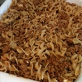 Ground Turkey and Noodle Casserole