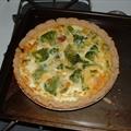 Ham n Cheese Broccoli Quiche