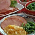 Ham with Fruit Glaze