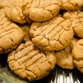 Healthier Peanut Butter Cookies