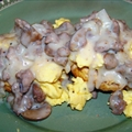 Healthy Biscuits and Gravy