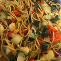 Healthy Chicken Stir Fry with Noodles