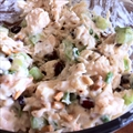 Healthy Cranberry Chicken Salad