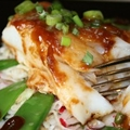 Hoisin-Glazed Seabass