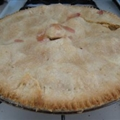 Homemade Strawberry-Rhubarb Pie