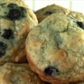 Honey Lemon Blueberry Muffins