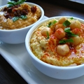 Hummus Dip Two Ways - Regular and Sundried Tomato