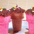 Ice Cream Cone Muffins