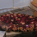 Incredibly easy berry cobbler