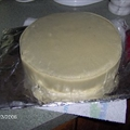 Irish Christmas Cake (Part 2) Marzipan Icing
