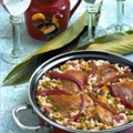 Island Chicken Paella