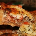 Italian Sausage Deep Dish Pizza