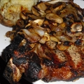 Jack Daniels Grilled Steak And Mushrooms